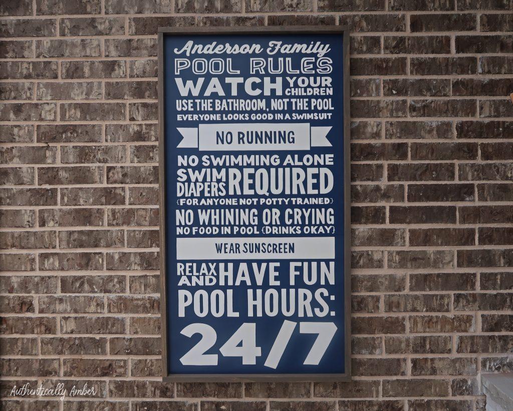 authentically amber backyard pool renovation staycation